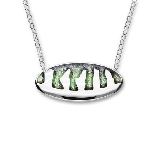 Ortak Ring of Brodgar Necklet- Sterling Silver