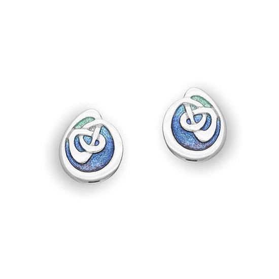 Ortak Archibald Knox Celtic Stud Earrings - ee80