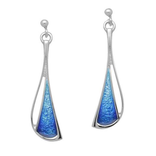 Ortak Arctic Blue stud earrings  EE354