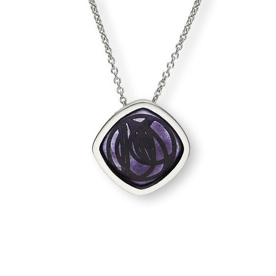 Charles Mackintosh inspired Silver Pendant, Ortak