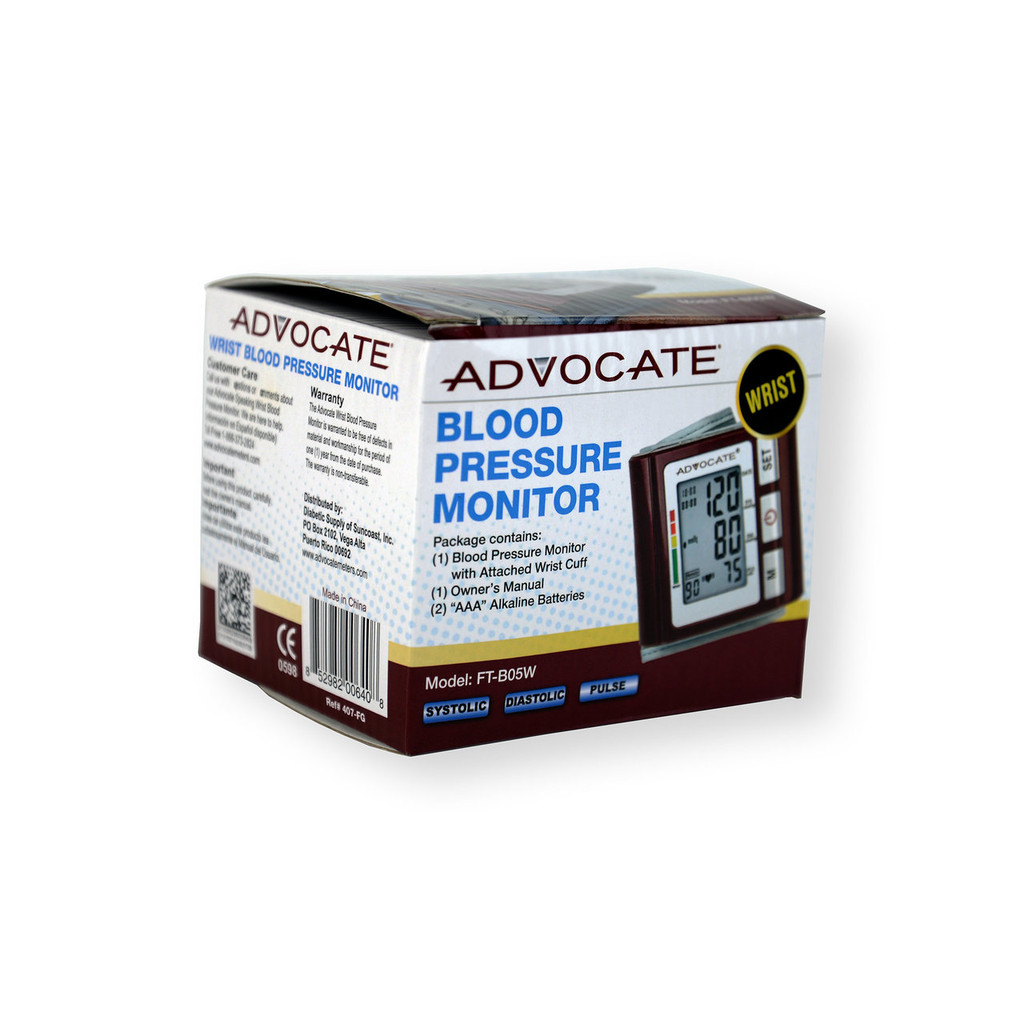 Advocate Wrist Blood Pressure Monitor FT-B05W (852982006408)