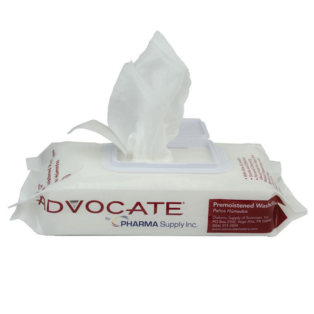 Pre-Moistened Washcloths (Single Pack) (852982006200)