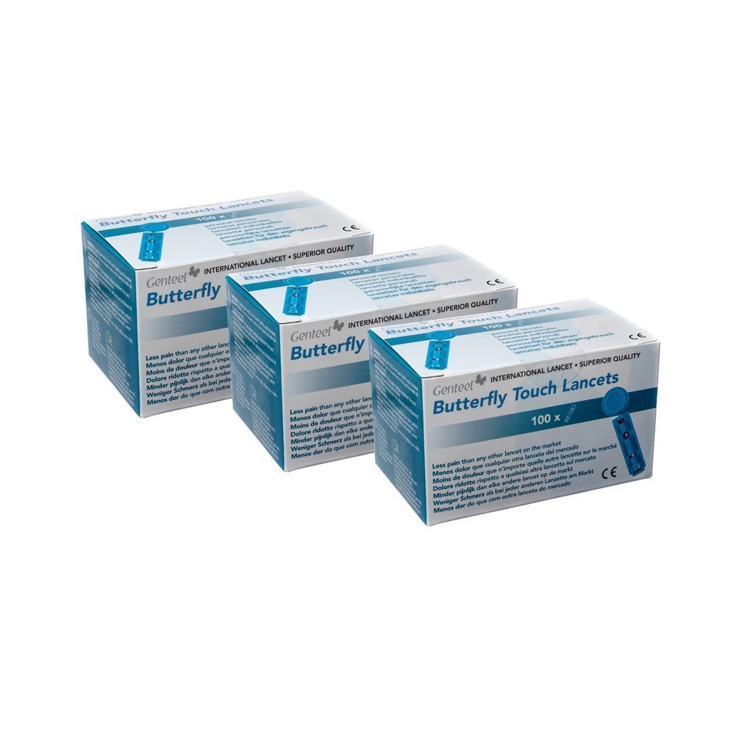 Butterfly Touch Lancets (3 Boxes) (600100-3)