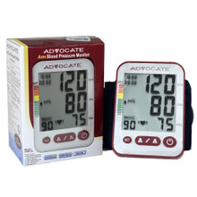 Advocate Arm Blood Pressure Monitor with Large Cuff (894046001417)