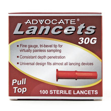 Advocate Pull-top Lancets 100/bx (894046001066)