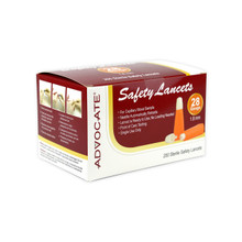 Advocate Safety Lancets 28G x 1.8mm 200/box (894046001912)