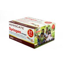 "Advocate Syringes 31G .5cc 5/16"" 100/box (894046001707)"