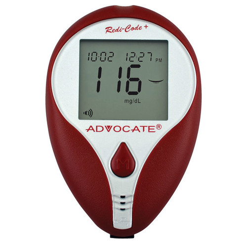 Advocate Redi-Code+ Speaking Blood Glucose Meter (894046001882)