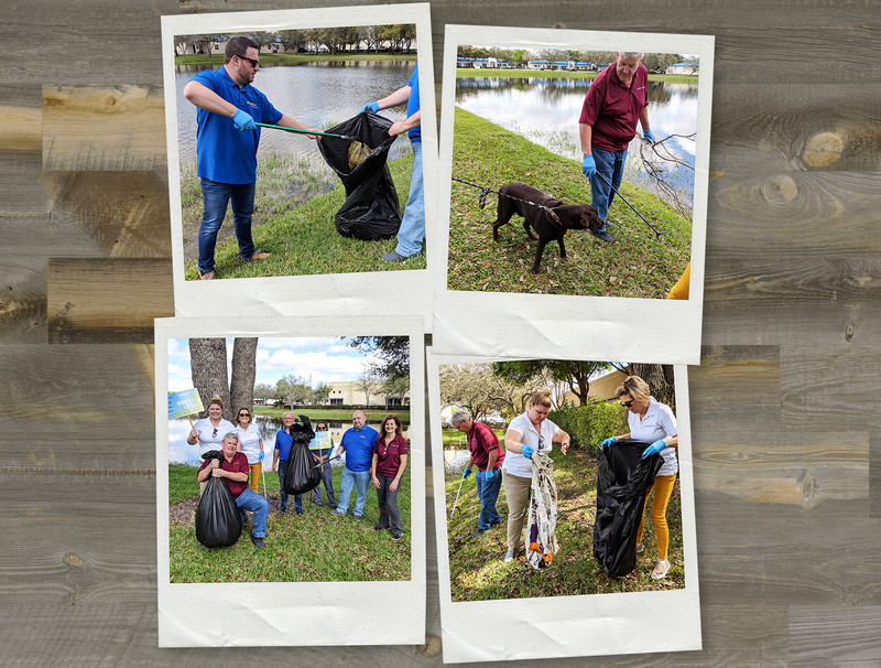 PetTest Cleans Local Lake of 125 Pounds of Plastic and Garbage