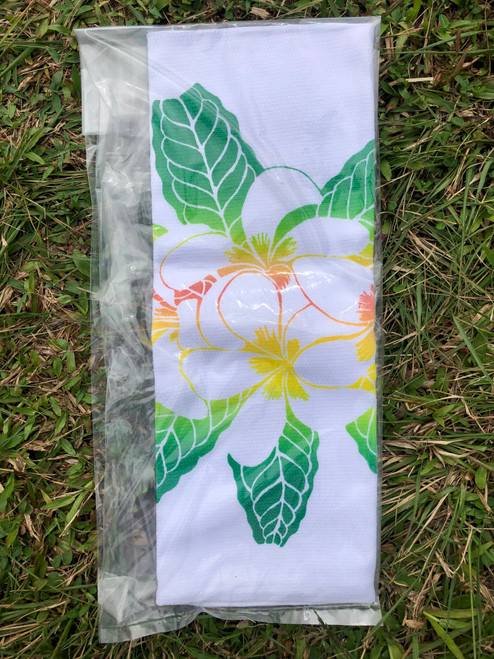 Hawaiian Screen Printed Hand Towels