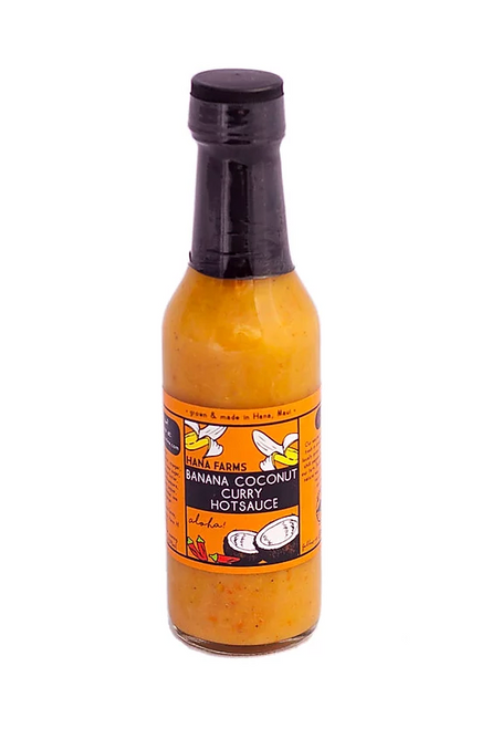 Watch Out! This unusual tropical hot sauce is extremely hot and addictive! You'll find yourself putting this sauce on just about everything. It is especially good in dips and used as a marinade. It also makes a wonderful curry sauce when added to a coconut milk base.