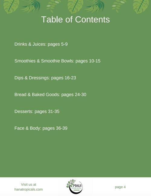 Moringa E-Book (Includes 20 AMAZING Recipes!)