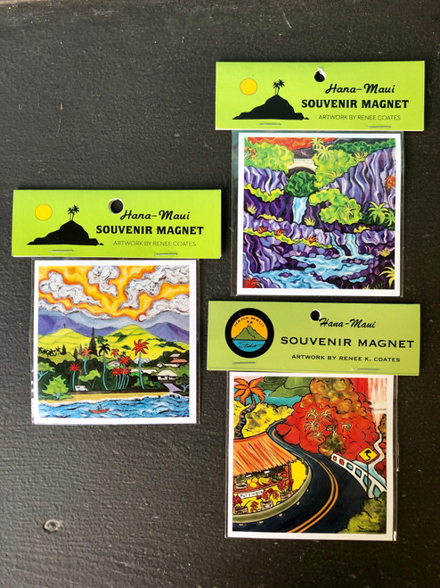 Hana Maui Magnet - Made in Hana!