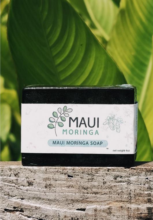 Moringa Rectangle Soap (4 oz)