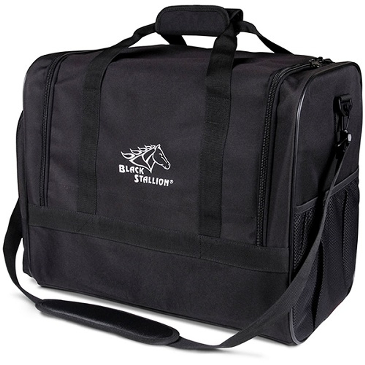 Redesigned with easy-open zippered flap for quick access to gear