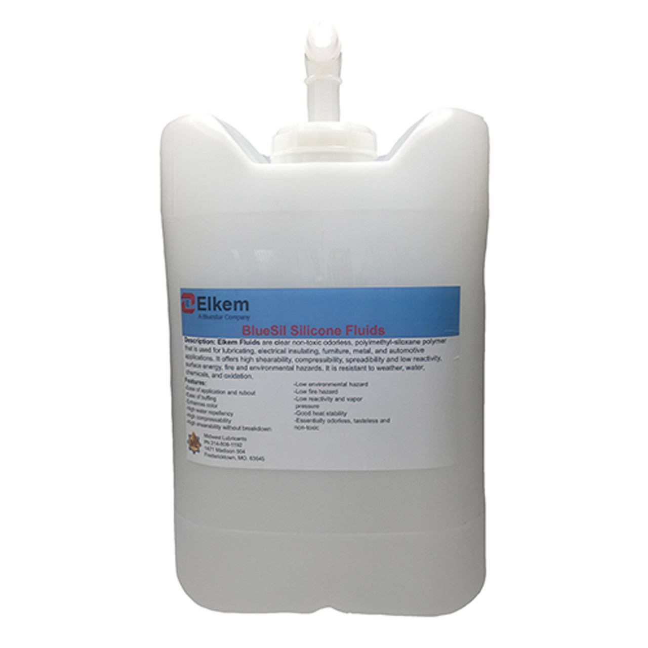 5 Gal./18.9Kg Jerrigan with pour spout and drillable vent hole
