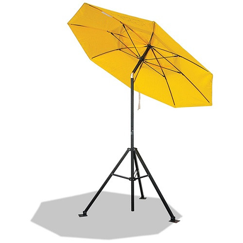 Flame-resistant Industrial Umbrella (UB100) and Tripod Stand (UB50) combo