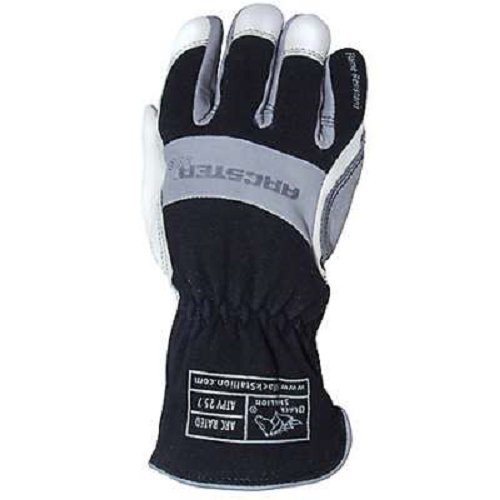 Flame Retardant Cotton/Grain Kidskin Arc Rated Gloves