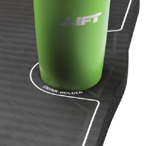 The Kneeling Mat is made of medium density closed cell polyurethane foam, and provides excellent shock absorption and cushioning. The mat reduces knee fatigue and joint discomfort while kneeling.