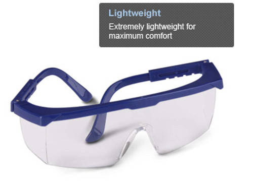 With a traditional look, Strobe is a cost-effective safety eyewear solution that still offers serious protection.