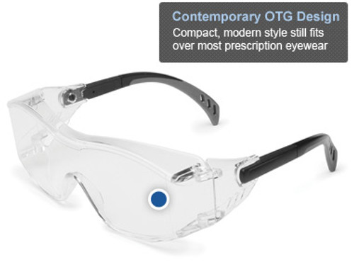 A contemporary over-the-glasses solution, Cover2 is more compact and lightweight than the traditional bulky OTG eyewear.