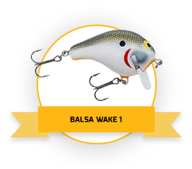 Balsa Wake 1 - Tennessee Shad