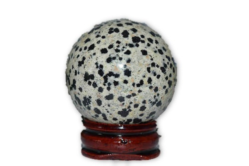 Dalmatian Jasper Crystal Sphere 40mm