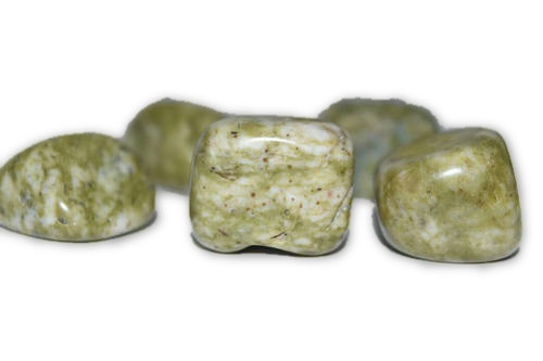 Epidote Crystal Tumbled  1 pc