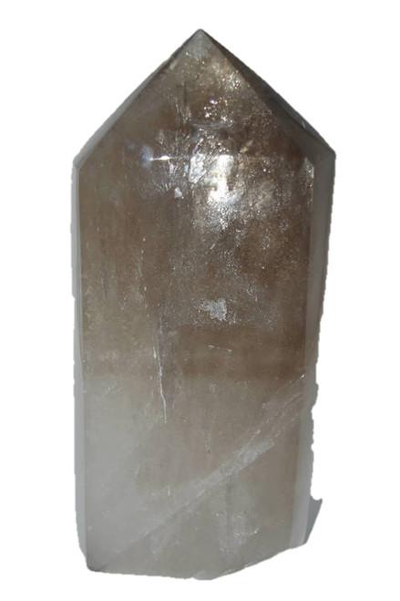 9.6lb Smoky Quartz Point Wand -Coffee Table, Altar Crystal, Decor