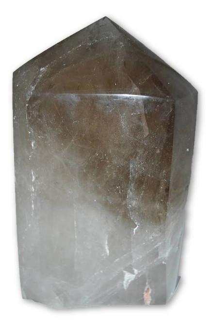 14.5lb Smoky Quartz Point Wand -Coffee Table, Altar Crystal