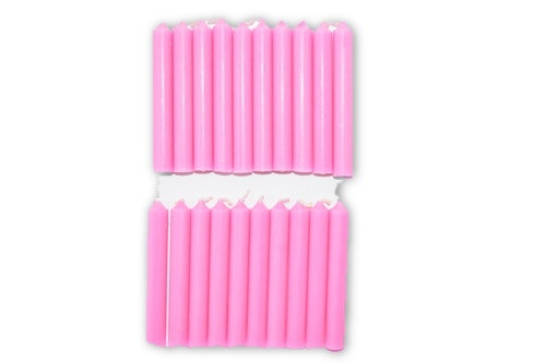 20pc Pink Chime Candles Pack-