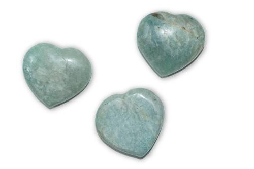 Amazonite Crystal Heart-