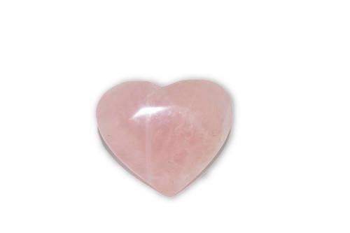 Rose Quartz Crystal Heart  - 1 pc