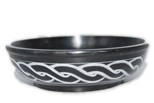 Celtic Carved Smudge Bowl for Sage, Incense, Cones, Smudge, Burner
