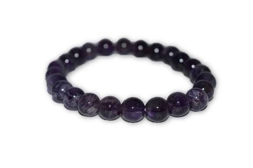 6mm Amethyst Crystal Bracelet-