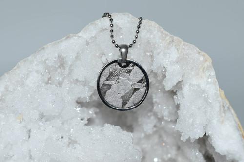 Meteorite Pendant Rd3- Seymchan - Crystal Pendant