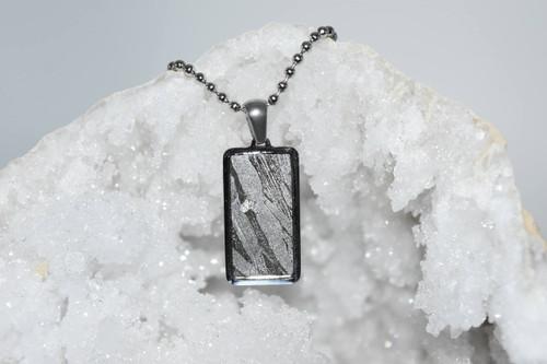 Meteorite Pendant Rt1- Seymchan - Crystal Pendant