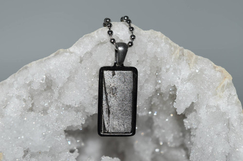 Meteorite Pendant Rt11- Seymchan - Crystal Pendant
