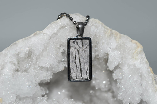 Meteorite Pendant Rt9- Seymchan - Crystal Pendant