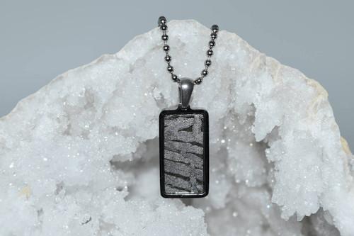 Meteorite Pendant Rt4- Seymchan - Crystal Pendant