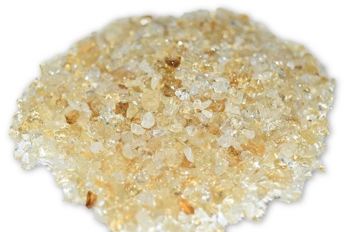 50g Citrine Crystal Chips-