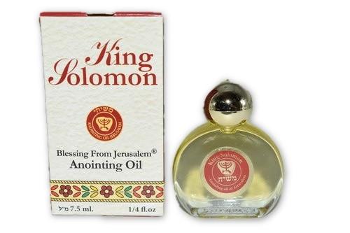 King Solomon Anointing Oil 7.5ml - Holy Oil- Anointing Oil-