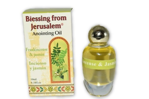 Frankincense & Jasmine Anointing Oil 7.5ml - Holy Oil- Anointing Oil-