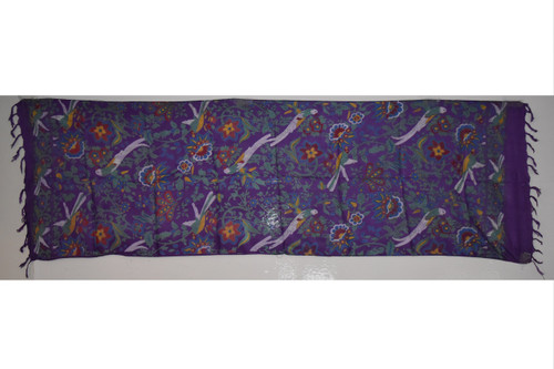 Birds of Paradise Tapestry- Altar Cloth, Sarong, Stole, Scarf, Headwrap, Pentacle