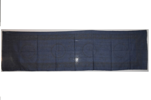 Cloth Blue Om Tapestry - Altar Cloth, Sarong, Stole, Scarf, Headwrap, Pentacle
