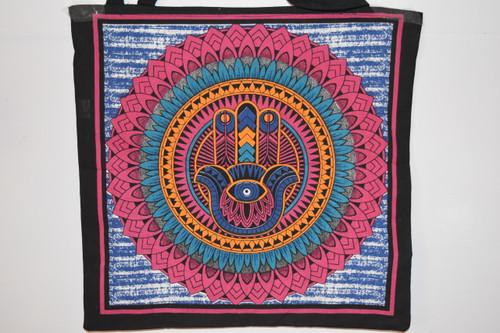 Hand of God Tote Bag - Hand of Hamsa Tote Bag   - Tote Bag - Cloth Bag