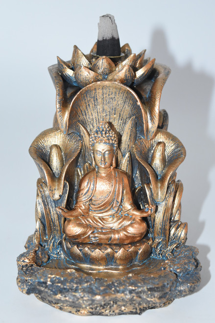 Buddha Backflow Incense Burner- For use with Backflow Incense Cones