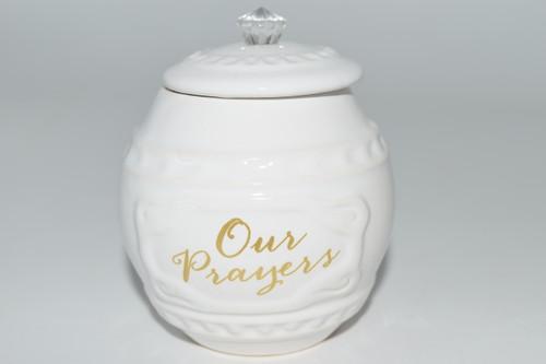 Our Prayers Jar -  Altar Supplies, Healing, Meditation, Gift Giving