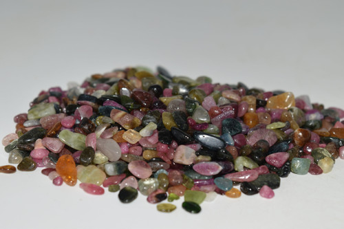 Multi Colored Tourmaline Chip Mix 50g