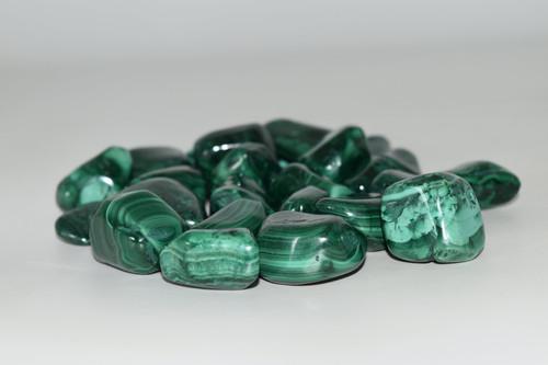 Malachite Tumbled Crystal 1 pc.